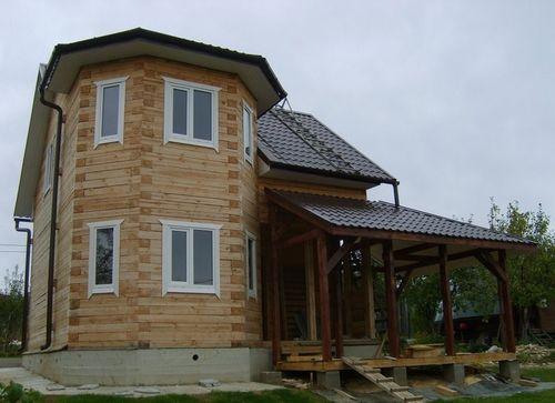 Строим дом с эркером
