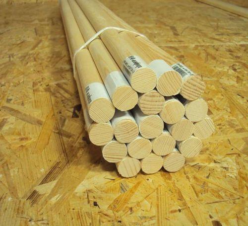 Деревянный нагель для скрепления бруса при сборке сруба