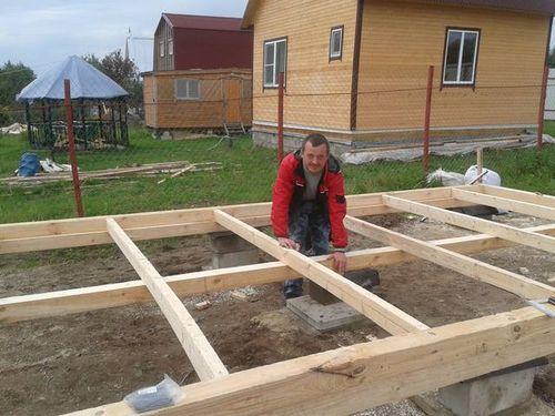 Как лучше построить бытовку своими руками
