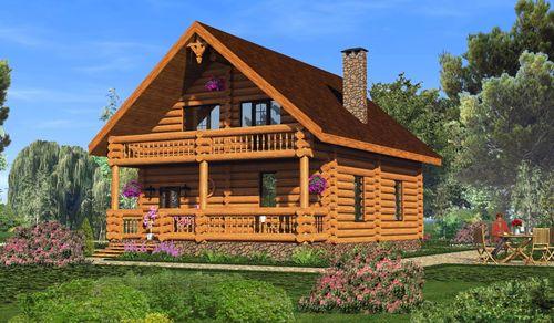 Gradimo hišo iz profiliranega bara z lastnimi rokami