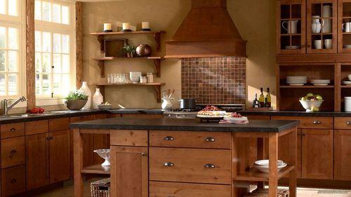 Кухонный гарнитур из дуба